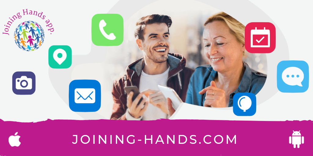 Joining Hands App - A Support Network built around you